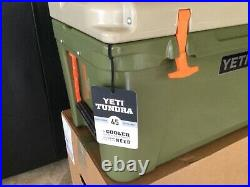 YETI HIGH COUNTRY Tundra 45 Green / Tan Cooler NEW in Box