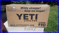 YETI Hard Cooler YETI Tundra 110 YT110W White