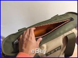 YETI Hopper 20, Cooler Bag FIELD TAN/BLAZE ORANGE, NEW