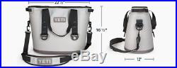 YETI Hopper 30 Cooler Leakproof Grey/Blue New in Box Condition YHOP30