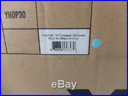 YETI Hopper 30 Portable Cooler (Field Tan/Blaze Orange)