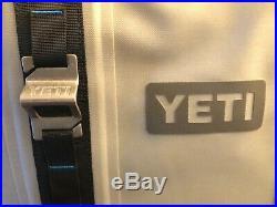 YETI Hopper 40 Cooler Rare Fog Gray with YETI Sidekick Dry Case & bottle opener
