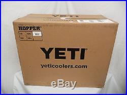 YETI Hopper 40 Gray Cooler 64 oz. Rambler 12 oz. Colster BUNDLE PACK