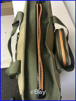 YETI Hopper 40 Portable Cooler Field Tan Blaze Orange With Sidekick