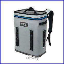 YETI Hopper BackFlip Cooler Backpack Fog Gray