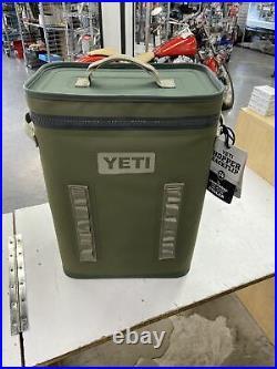 YETI Hopper Backflip 24 Soft Sided BackPack Cooler Highlands Olive
