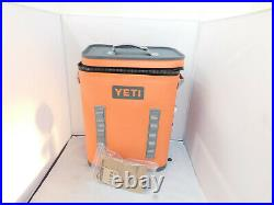 YETI Hopper Backflip 24 Soft Sided Cooler/Backpack, CORAL color