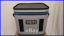 YETI Hopper FLIP 12 can GRAY Soft Side Cooler BRAND NEW! + FREE SHIPPING