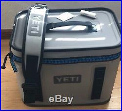 YETI Hopper FLIP 18 Cooler Fog Grey New without tags FREE SHIPPING