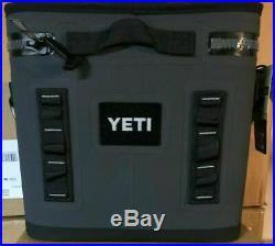 YETI Hopper FLIP 8 can CHARCOAL Soft Side Cooler BRAND NEW
