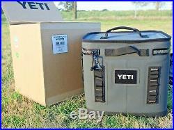 YETI Hopper Flip 12 Charcoal Brand New Soft Cooler