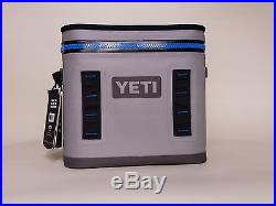 YETI Hopper Flip 12 Cooler Fog Gray / Tahoe Blue