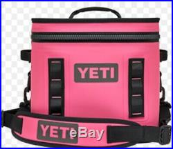 YETI Hopper Flip 12 Limited Edition Soft Cooler Harbor Pink NEW withbox
