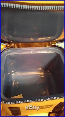 YETI Hopper Flip 12 Portable Cooler, Fog Grey/Tahoe Blue NEW never used
