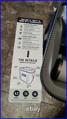 YETI Hopper Flip 12 Portable Cooler Navy & YETI Rumbler 20oz BRAVES EDITION