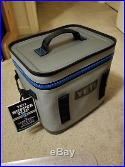 YETI Hopper Flip 12 Portable Cooler with Top Handle, Fog Gray, Brand New