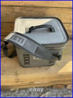 YETI Hopper Flip 12 Portable Soft Cooler Charcoal Model GS3130-1