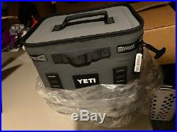 YETI Hopper Flip 12 Soft-Sided Leakproof Cooler Charcoal BRAND NEW