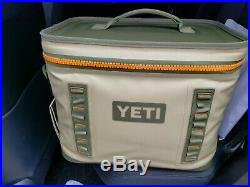 YETI Hopper Flip 18 Rugged Soft-Sided Ice Chest Cooler, Field Tan- NEW