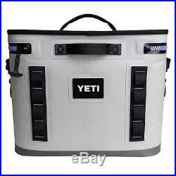 YETI Hopper Flip 18 Rugged Soft-Sided Leakproof Ice Chest Cooler Blue/Grey