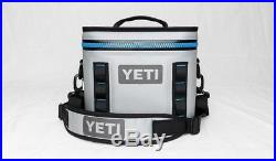YETI Hopper Flip 8 Cooler Leakproof Fog Gray/Tahoe Blue Brand New With Tags