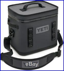 YETI Hopper Flip 8 Portable Cooler Charcoal NEW FREE SHIPPING