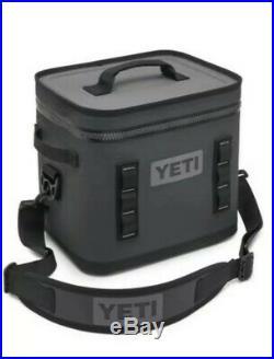 YETI Hopper Flip Portable Cooler Flip 12 Charcoal