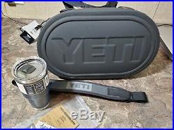 YETI Hopper M30 Portable Cooler CHARCOAL and yeti RAMBLER 30oz TUMBLER NAVY