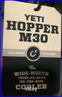 YETI Hopper M30 River Green Soft Side Cooler NEW