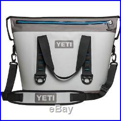 YETI Hopper Two 30 Cooler Gray/Blue FREE SHIPPING Brand NEW w Retail Tags