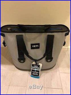 YETI Hopper Two 30 Zip Cooler Fog Gray/Tahoe Blue $349.99