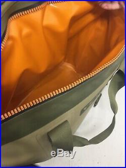 YETI Hopper Two 40 Portable Cooler Field Tan Blaze Orange