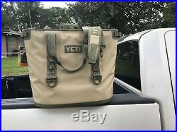 YETI Hopper Two 40 Portable Cooler, Field Tan/Blaze Orange NEW