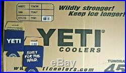 YETI Limited Edition CORAL Tundra 45 Cooler + (2) FREE Koozies NEW in BOX