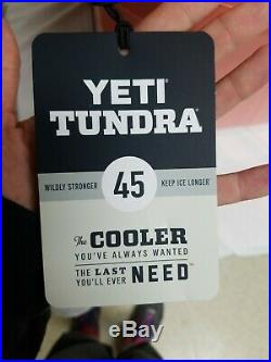 YETI Limited Edition CORAL Tundra 45 Cooler NEW