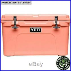 YETI Limited Edition CORAL Tundra 45 Cooler NEW in BOX