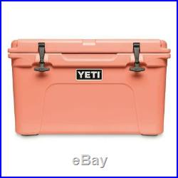 YETI Limited Edition CORAL Tundra 45 Cooler NEW in BOX + Free Opener & Koozi