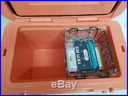 YETI Limited Edition CORAL Tundra 45 Cooler New in Box RARE