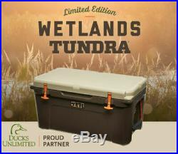 YETI Limited Edition Tundra 65 Wetlands Cooler RARE Sold out edition