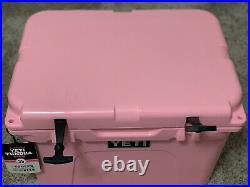YETI Pink 35 Tundra Cooler Brand New In Box