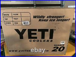YETI ROADIE 20qt. PINK LIMITED EDITION COOLER