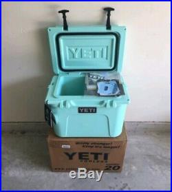 YETI ROADIE COOLER 20 SEAFOAM SOLD OUT NEW Factory Sealed Original From 2017