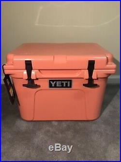 YETI Roadie 20 CORAL Cooler- New. RARE