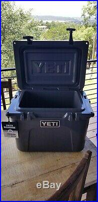 YETI Roadie 20 Charcoal Cooler Limited Edition Color NEW with tags and paperwork