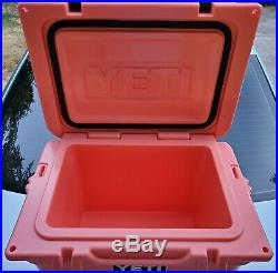 YETI Roadie 20 Cooler CORAL LIMITED EDITION / RARE COLOR / Discontinued Model