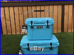 YETI Roadie 20 Cooler REEF BLUE Brand New Fast Ship
