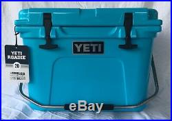 YETI Roadie 20 Reef Blue Cooler Limited Edition Color NEW