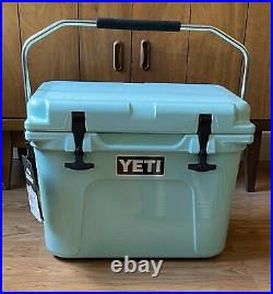YETI Roadie 20 Sea Foam Green Cooler Limited Edition Color NEW