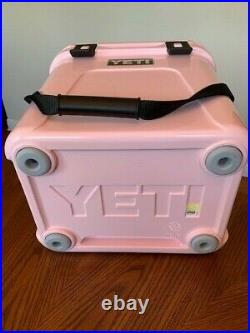 YETI Roadie 24 Cooler BUNDLE+ ICE PINK Limited Edition Sold Out Brand New