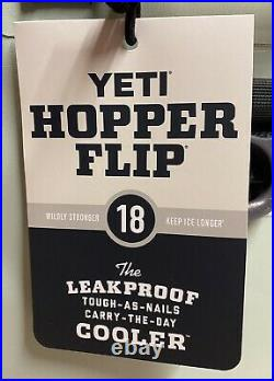 YETI SAGEBRUSH GREEN Hopper Flip 18 Soft Cooler NEW WithTAGS FAST FREE SHIPPING
